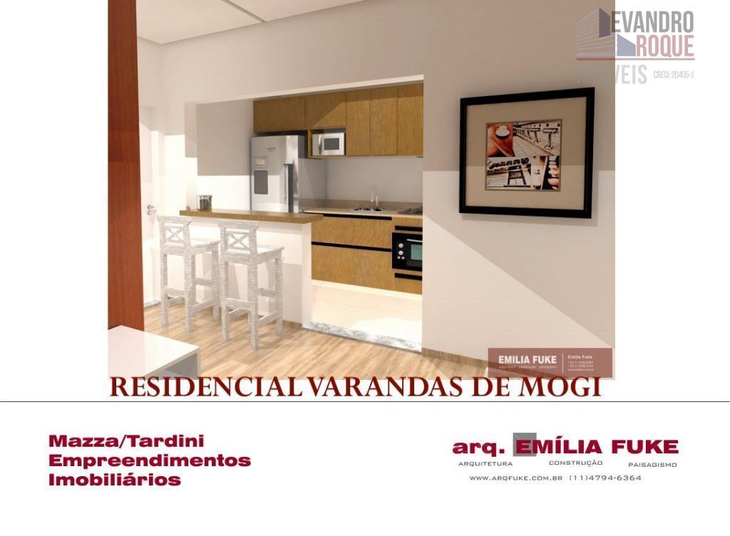 Apartamento residencial à venda, Vila Brasileira, Mogi das Cruzes.