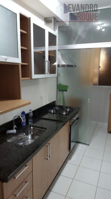 Apartamento residencial para locação, Vila Mogilar, Mogi das Cruzes.