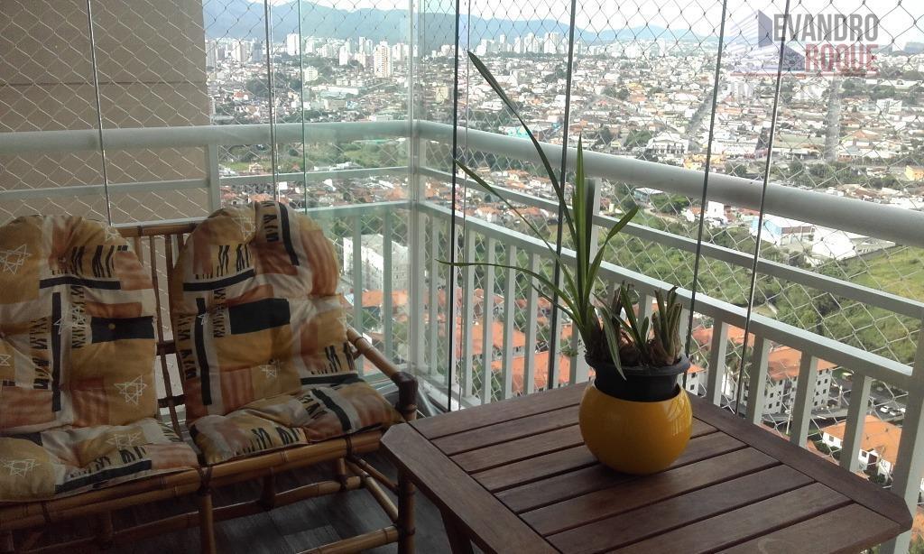 Apartamento residencial para venda e locação, Vila Santana, Mogi das Cruzes.