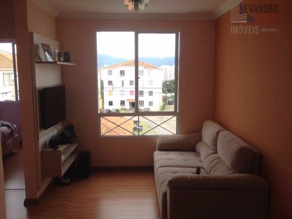 Apartamento residencial para venda e locação, Cézar de Souza, Mogi das Cruzes.