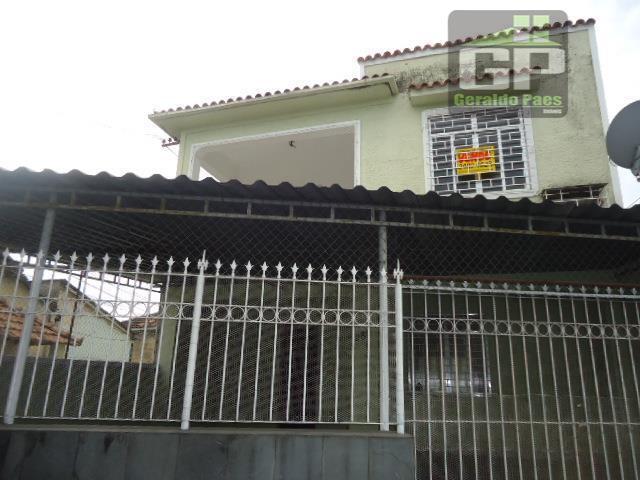 Casa residencial para locação, Rocha Miranda, Rio de Janeiro - CA0042.