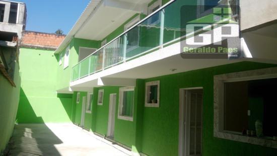 Apartamento  residencial para locação, Realengo, Rio de Janeiro.
