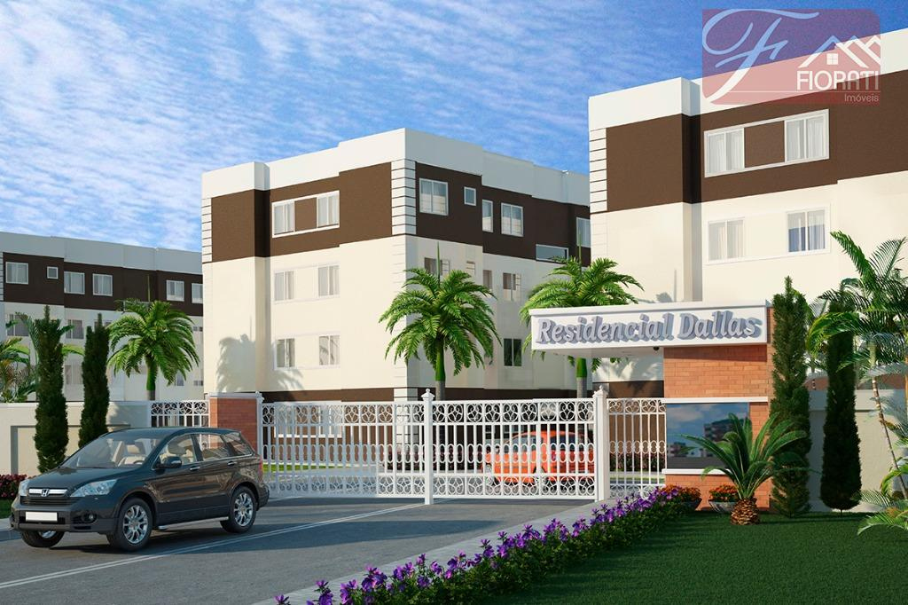 Apartamento residencial à venda, Jardim Iruama, Campo Largo - AP0113.