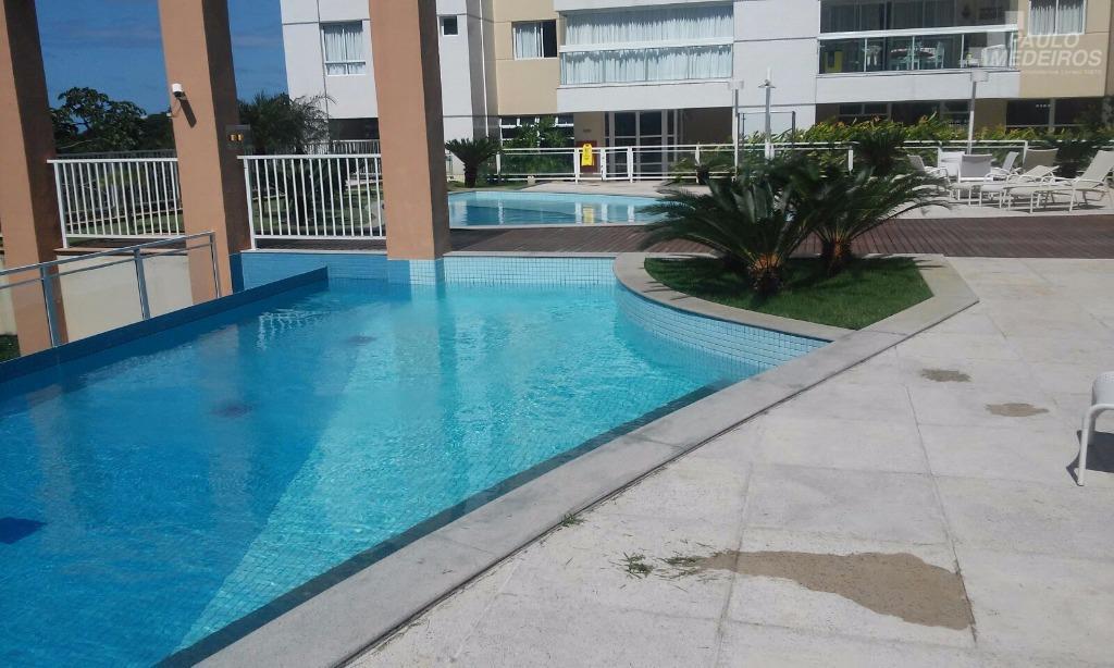 Apartamento residencial à venda, Alphaville I, Salvador.