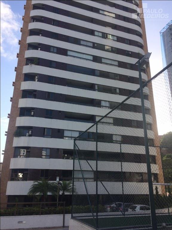 Apartamento residencial à venda, Cidade Jardim, Salvador.