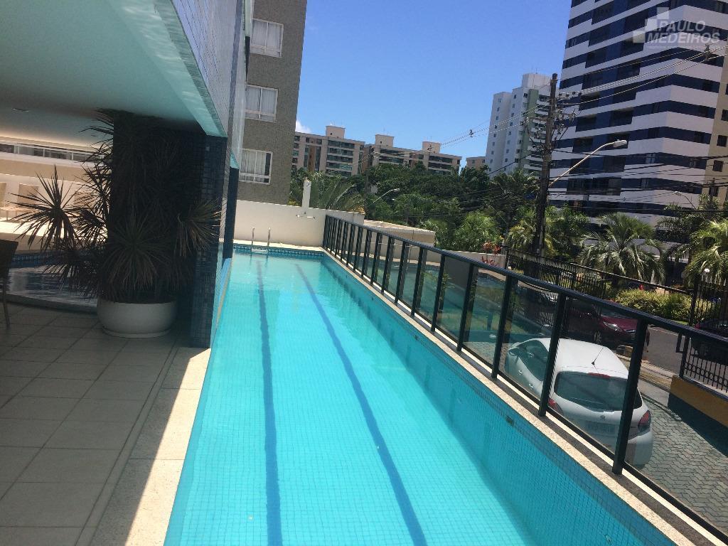 Apartamento residencial para locação, Alphaville I, Salvador.