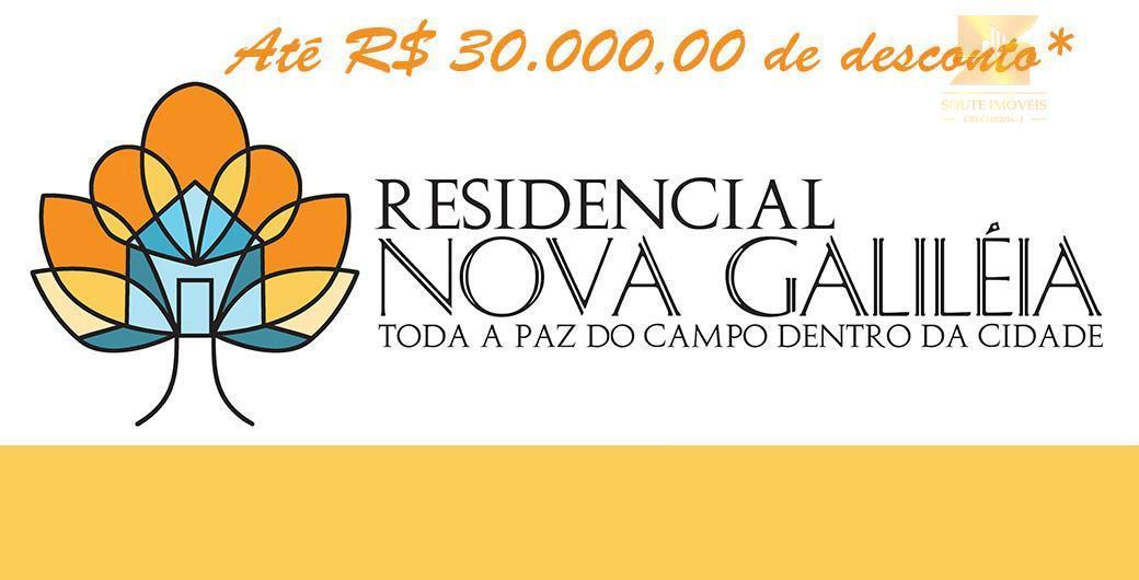 Residencial Nova Galiléia - 1000 m² com portaria e Segurança