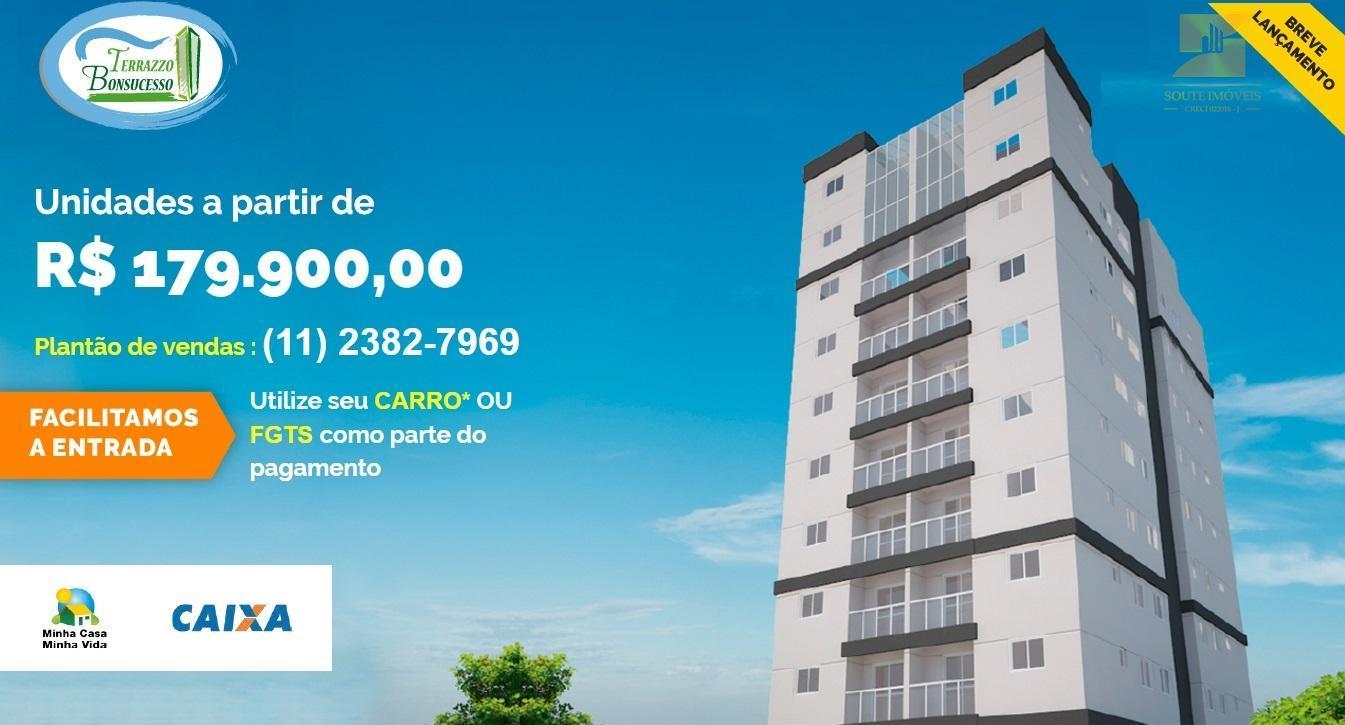 Apartamento residencial à venda, Cidade Nova Bonsucesso, Guarulhos.