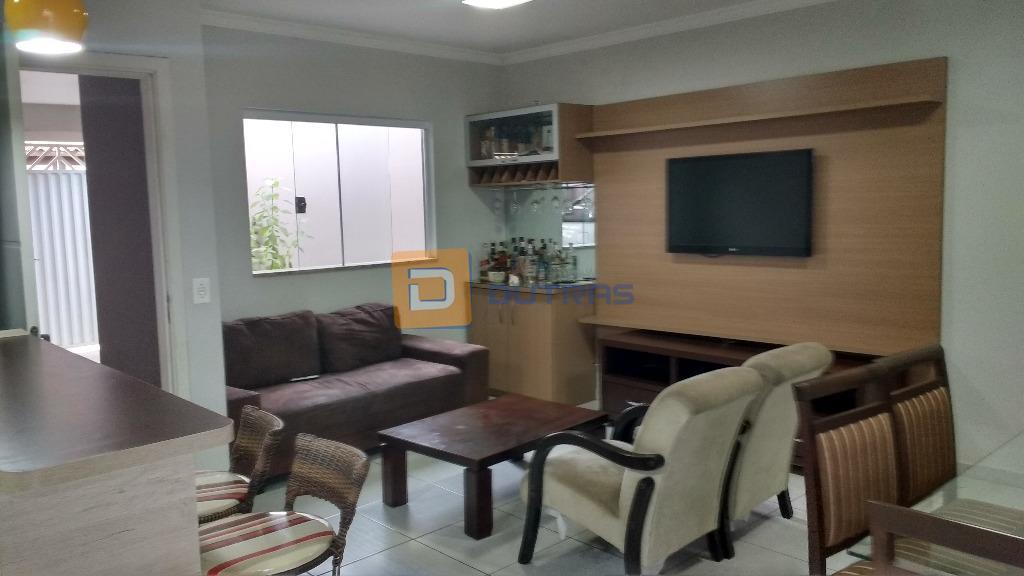 Casa residencial à venda, Residencial Portal da Água Branca, Piracicaba - CA1005.