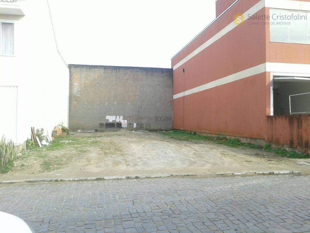Terreno no Centro de Camboriú com projeto aprovado