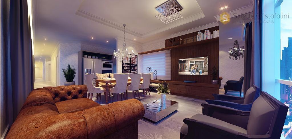 Excelente apartamento no Edifício Magnum Itapema