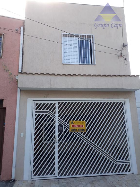 Sobrado com 3 dormitórios à venda, 117 m² por R$ 425.000 - Vila Moreira - São Paulo/SP