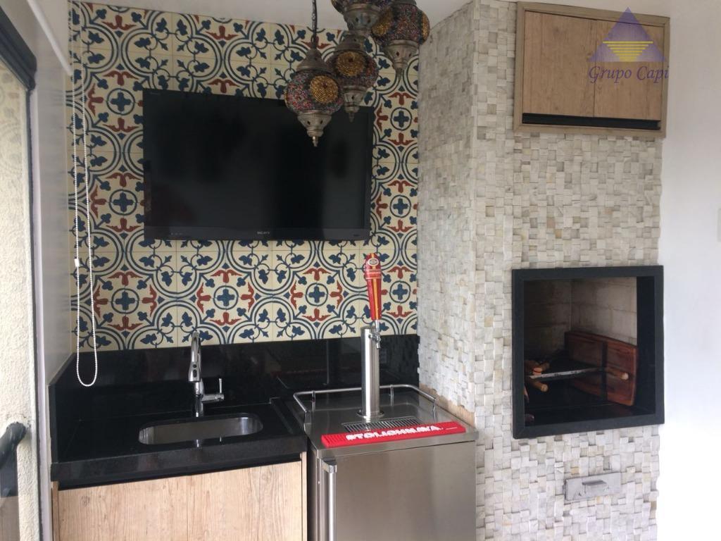 Lindo Apartamento para venda na Mooca com Varanda Gourmet e 02 vagas de garagem .