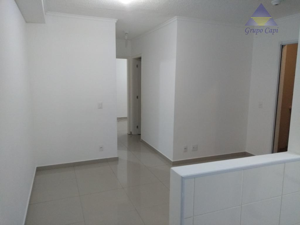 apartamento, quitado e registrado ,no último andar da torre, com 2 quartos, 48 m 2, piso...