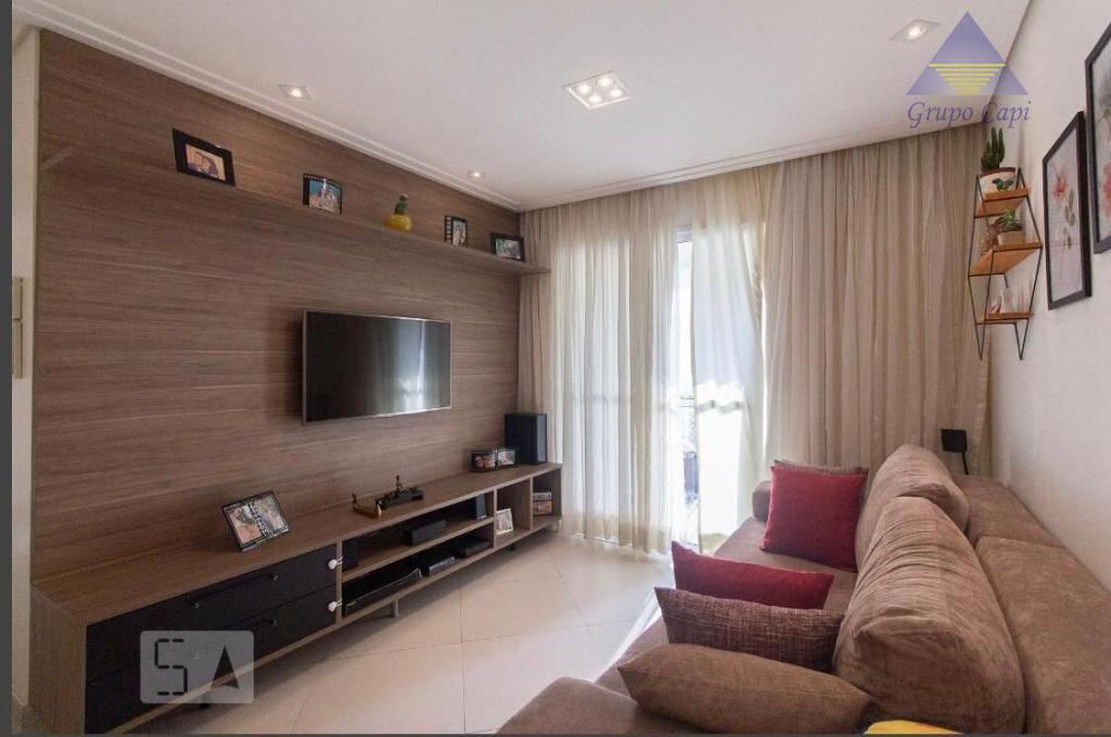Apartamento para locação de 03 dormitórios , Varanda Gourmet e 01 vaga de garagem no Tatuapé
