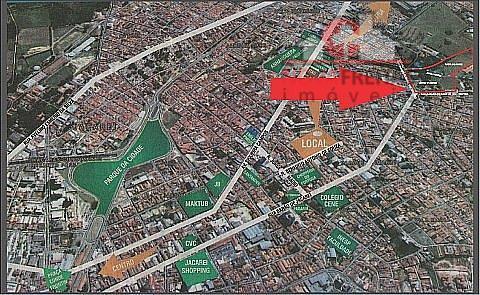 Área à venda em Centro, Jacareí - SP