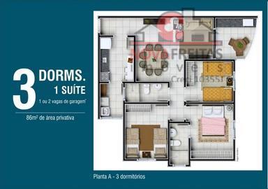 Apartamento de 3 dormitórios à venda em Indaiá, Caraguatatuba - SP