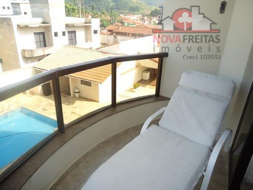 Apartamento de 3 dormitórios à venda em Martim De Sá, Caraguatatuba - SP