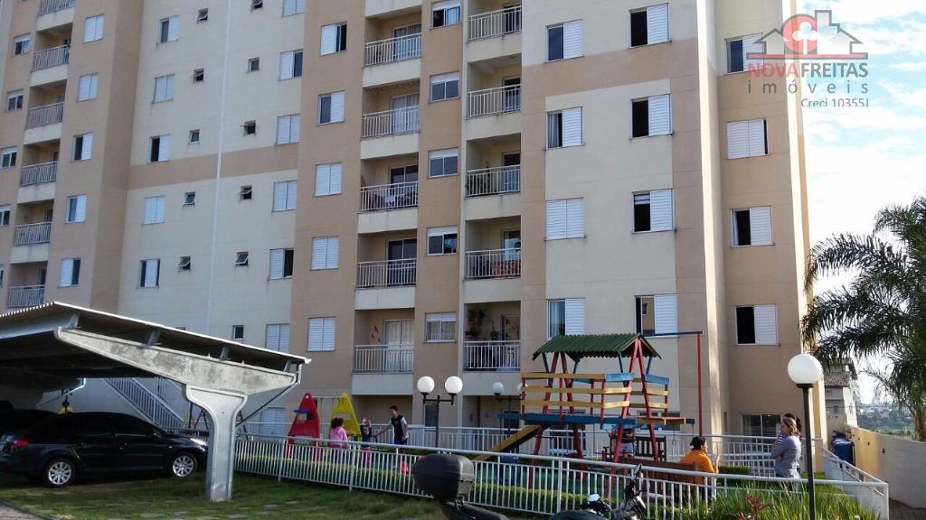Apartamento  residencial à venda, Vila Industrial, São José dos Campos.