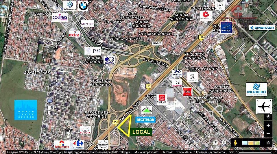 Área à venda em Jardim Satélite, São José Dos Campos - SP