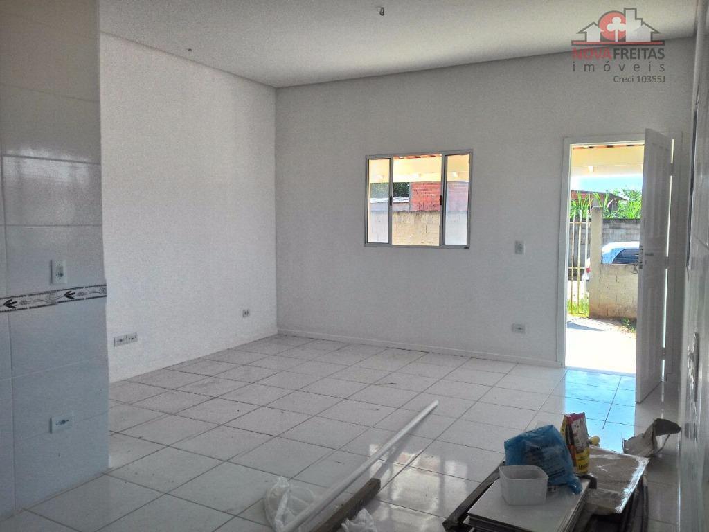Casa de 2 dormitórios à venda em Balneário Dos Golfinhos, Caraguatatuba - SP