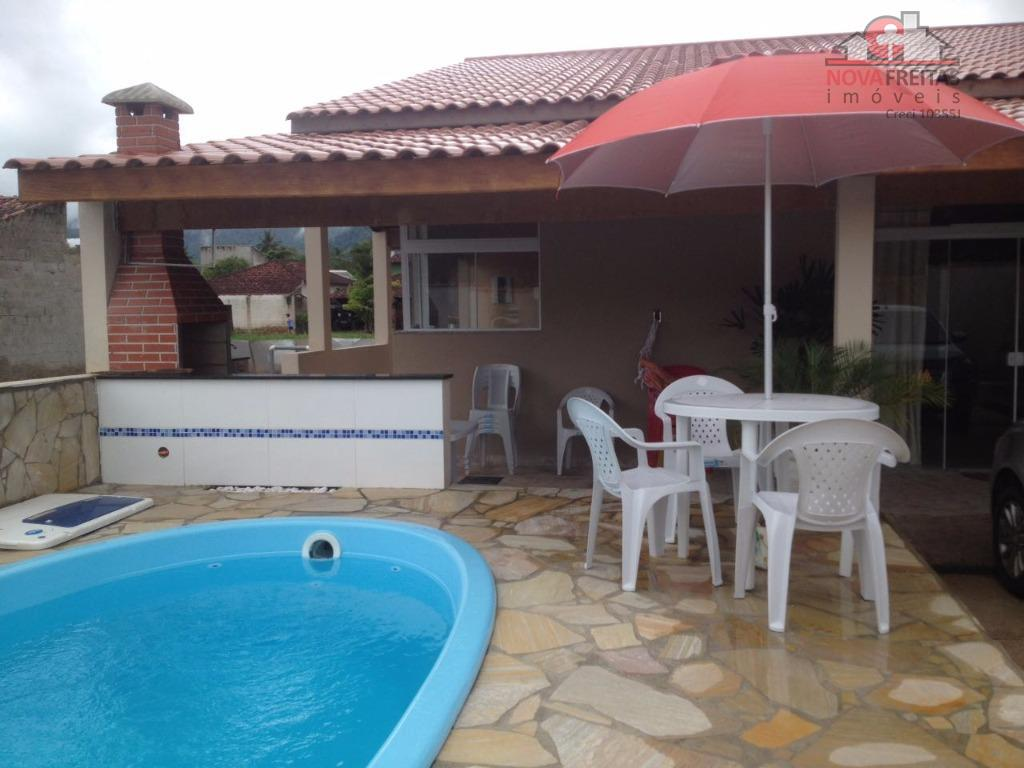 Casa de 3 dormitórios à venda em Pegorelli, Caraguatatuba - SP