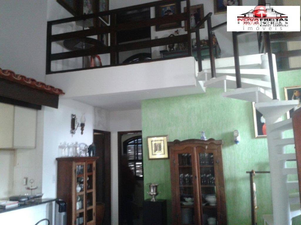 Sobrado de 3 dormitórios à venda em Massaguaçu, Caraguatatuba - SP