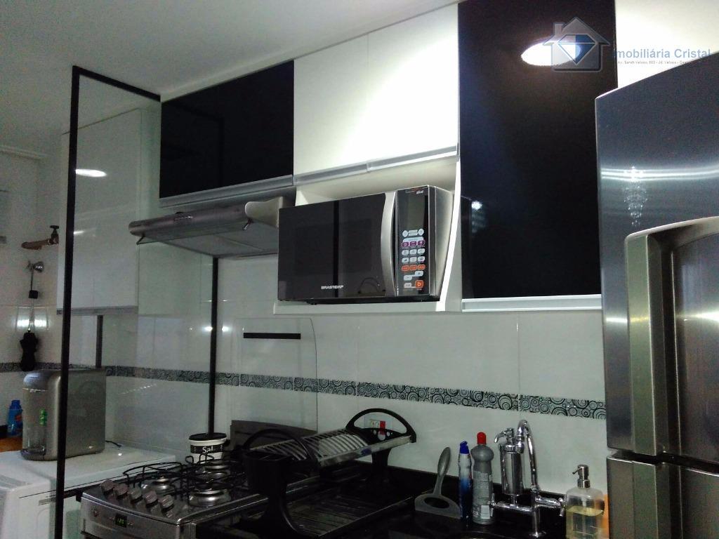 Apartamento residencial à venda, Bussocaba, Osasco - AP1014.