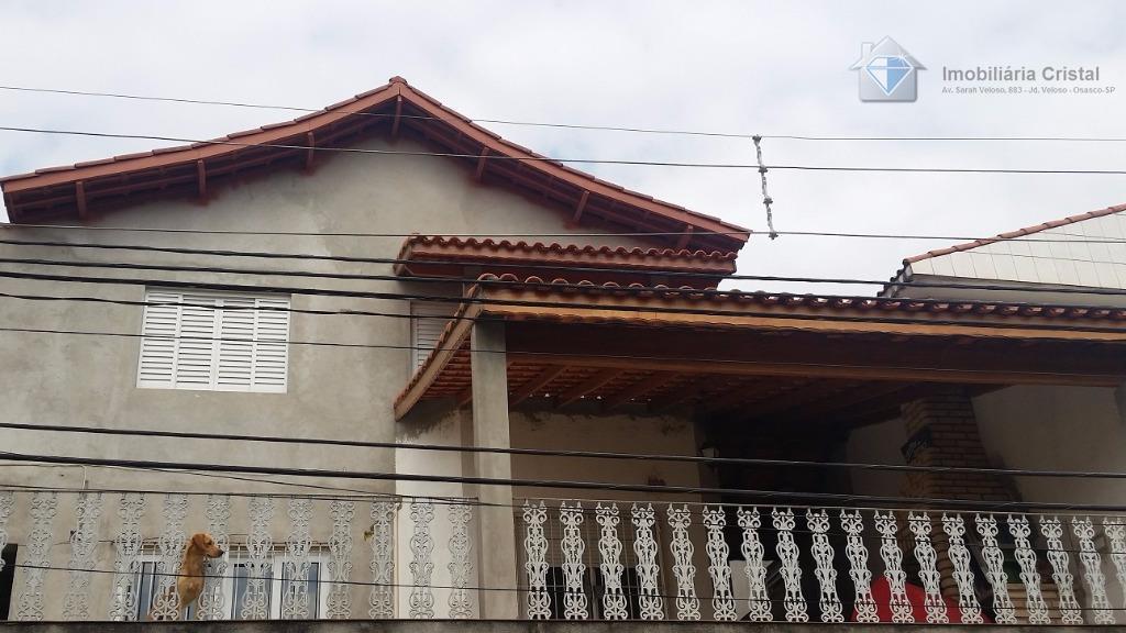 Sobrado residencial à venda, Jardim das Flores, Osasco.