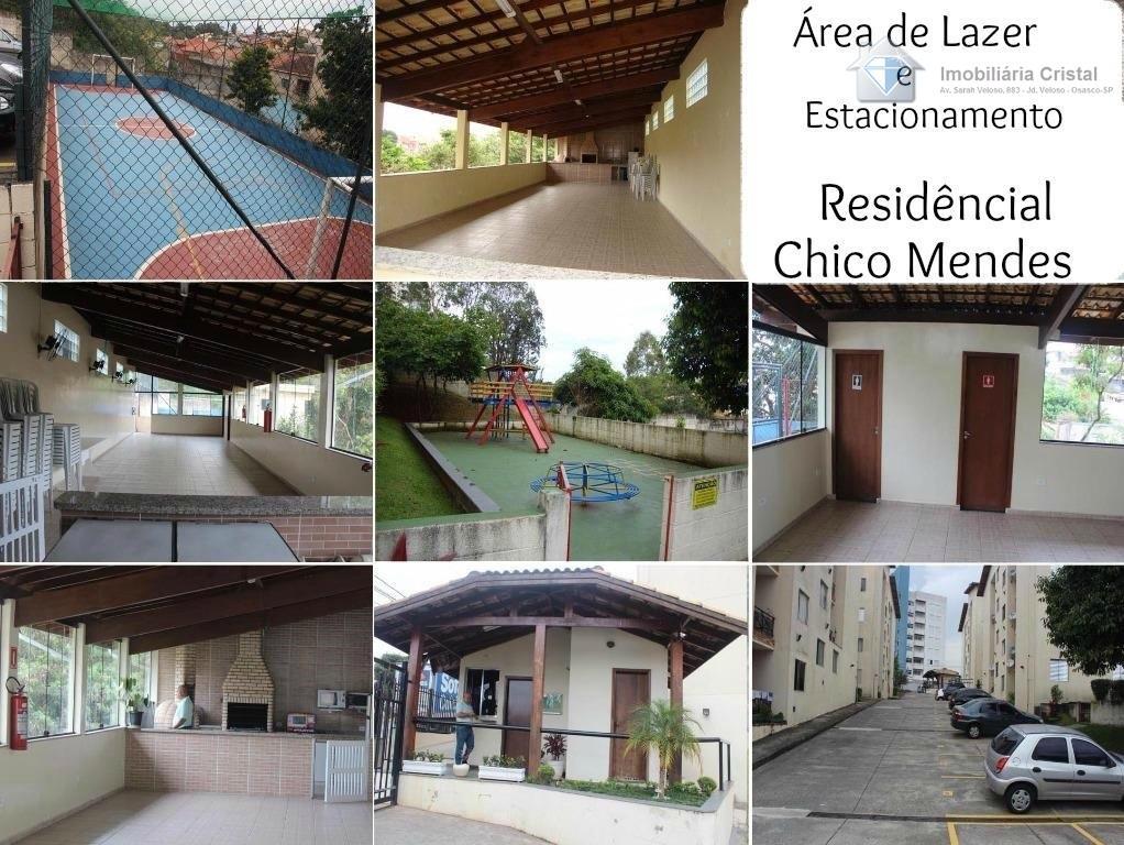 Apartamento residencial à venda, Jardim D Abril, Osasco.