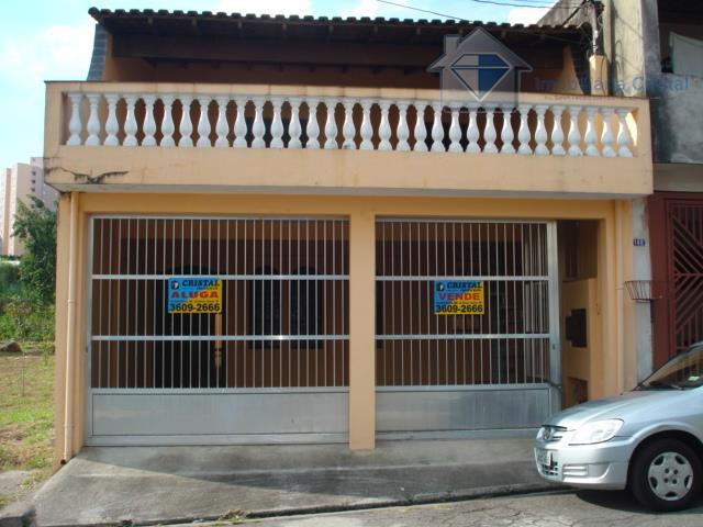 Sobrado residencial à venda, Metalúrgicos, Osasco - SO0161.