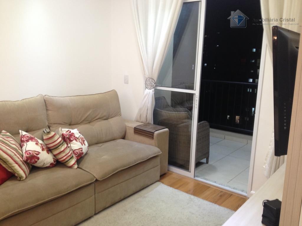 Apartamento residencial à venda, Umuarama, Osasco - AP0594.