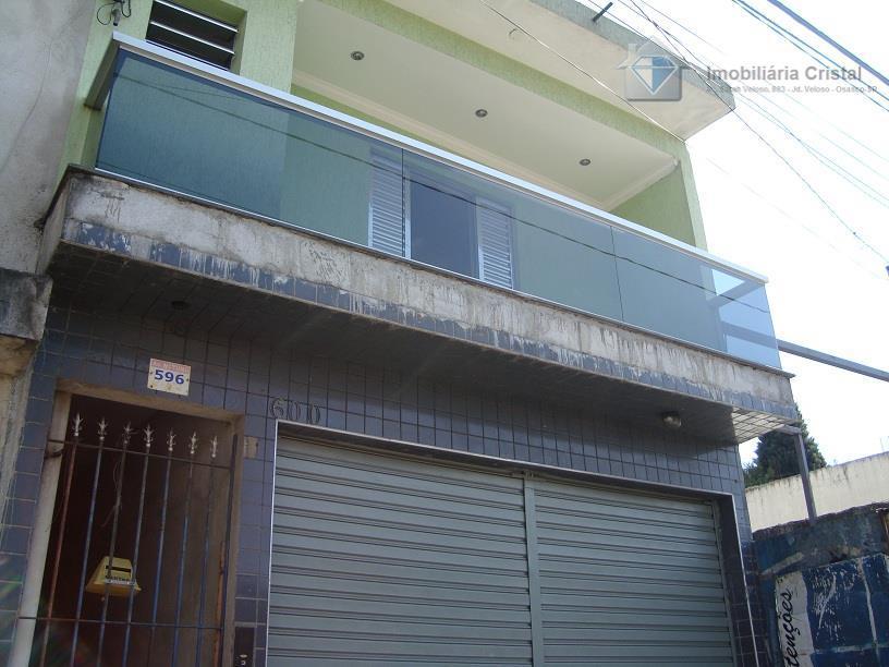 Sobrado residencial à venda, Jardim Novo Horizonte, Carapicuíba - SO0282.