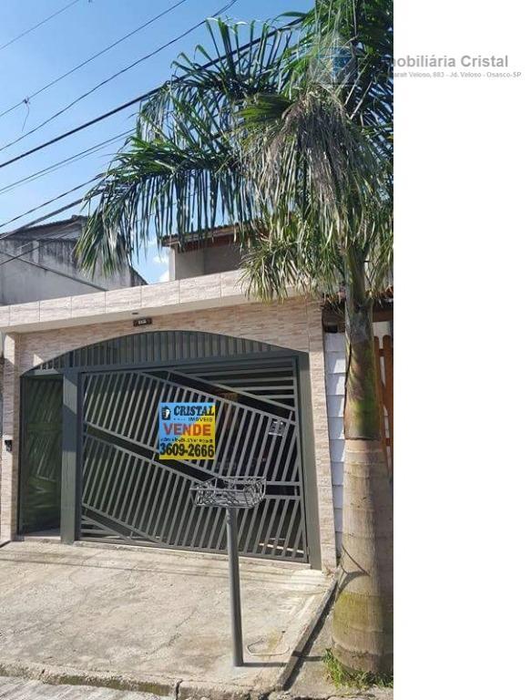 Sobrado residencial à venda, Jardim Patriarca, Jandira - SO0678.