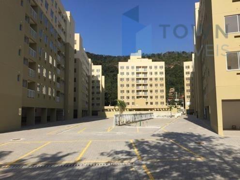 Apartamento com 2 dormitórios para alugar, 55 m² por R$ 1.100/mês - Piratininga - Niterói/RJ