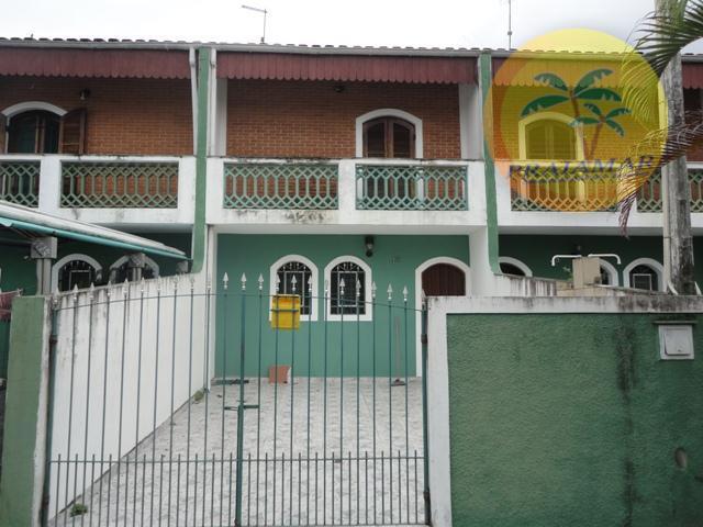 Sobrado residencial para venda e locação, Sumaré, Caraguatatuba - SO0017.