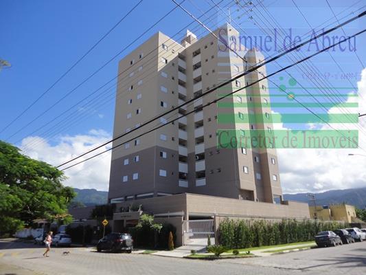 Apartamento  residencial para locação, Indaiá, Caraguatatuba.