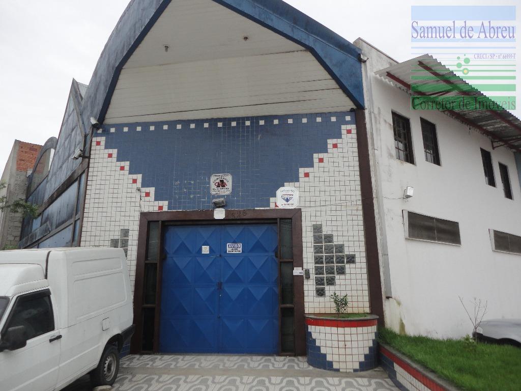Galpão  comercial para locação, Pontal de Santa Marina, Caraguatatuba.