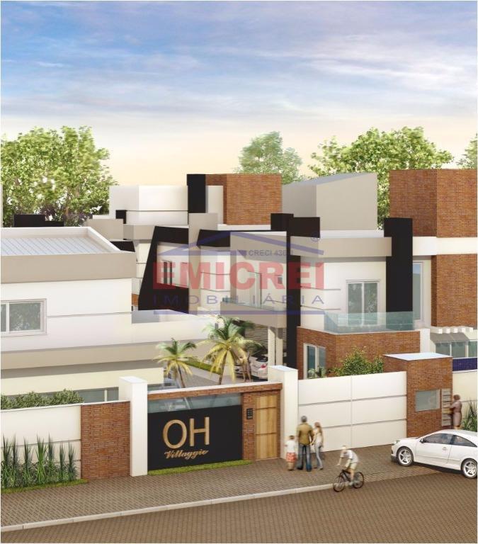 3 dormitórios, 1 suíte, alto padrão de acabamento.condomínio fechado com apenas 6 sobrados.academia, piscina e salão...