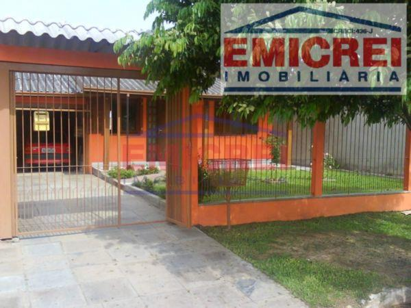 Casa Alvenaria 95m², 2 dormitórios, garagem, terreno 341m² todo fechado. Bairro Independência, São Leopoldo.