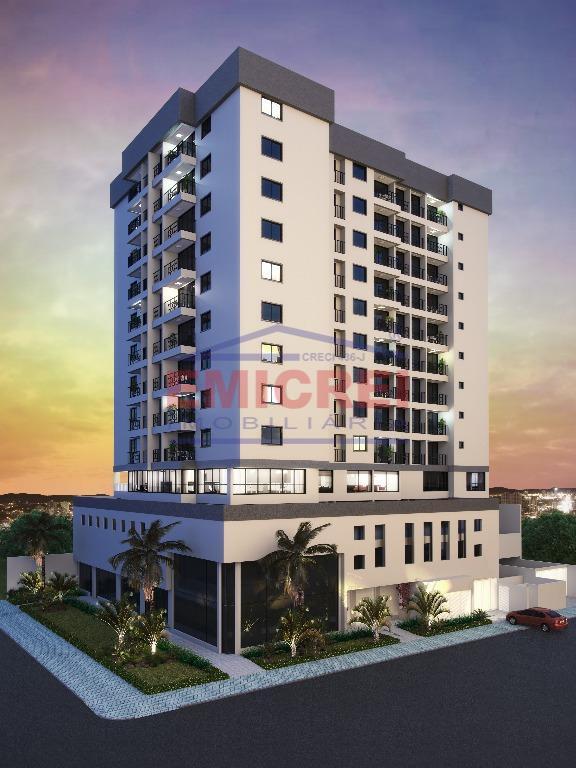 Apartamento residencial 2 dormitórios com suíte, garagem e sacada, à venda, Centro, São Leopoldo.