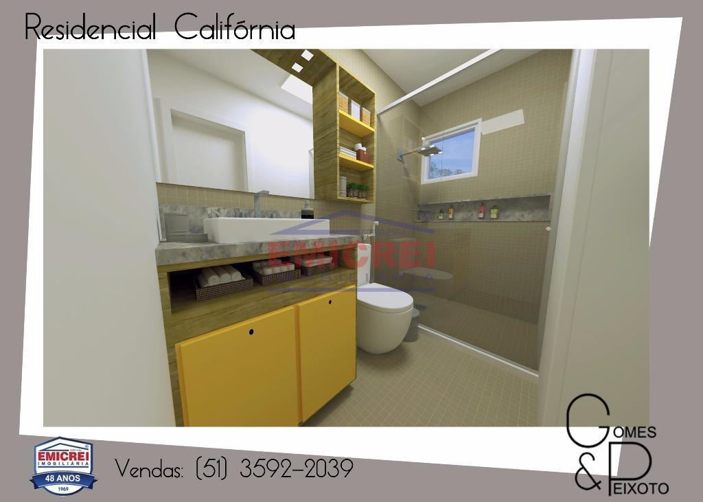 2 dormitórios, com churrasqueira, vaga de estacionamento para carro.porcelanato, forro em gesso (sala, cozinha e banheiro),...