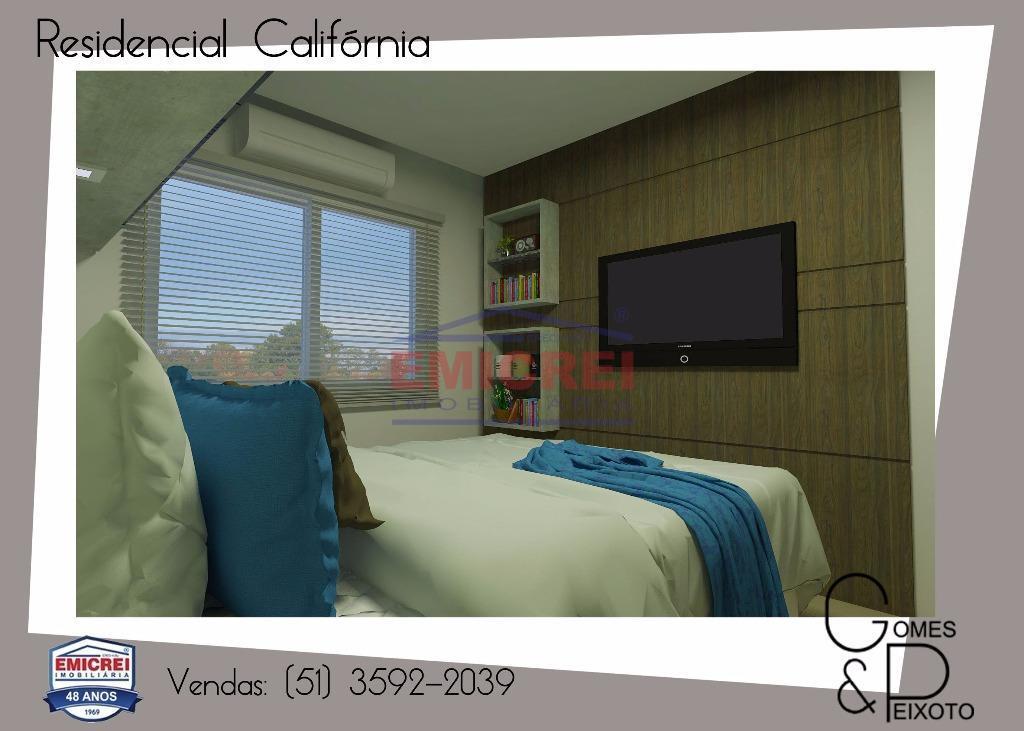 2 dormitórios, com sacada e churrasqueira, 1 vaga para carro.porcelanato, forro em gesso (sala, cozinha e...