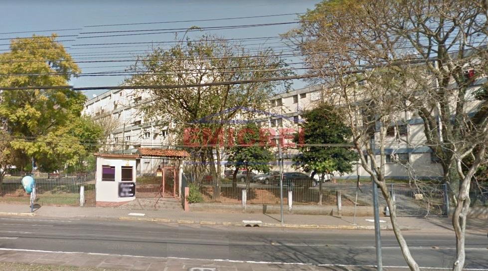 Apartamento à venda, 2 dormitórios, todo reformado, semimobiliado, estacionamento 1 carro, bairro Jardim América, São Leopoldo