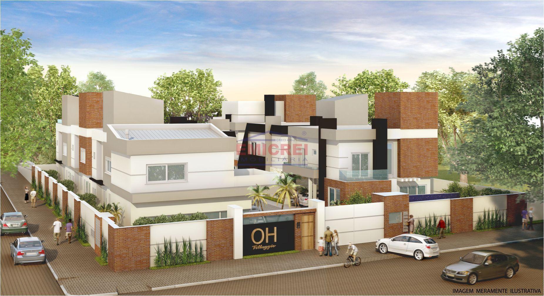Emicrei Vende - Sobrado 3 dormitórios, alto padrão, bairro Jardim América em São Leopoldo.