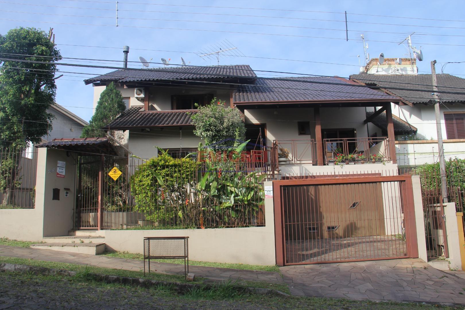 Casa/Sobrado São Leopoldo, Jardim das Acácias, 4 dormitórios (1 tipo suíte c/Hidro e sacada) 3 salas, lareira, vista panorâmica