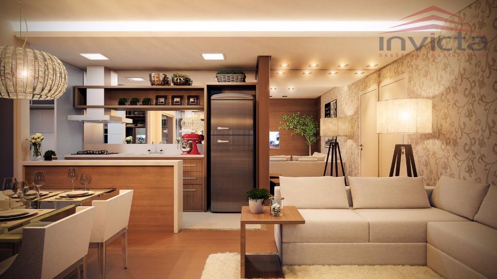 Apartamento residencial à venda, Maria Luiza, Cascavel.