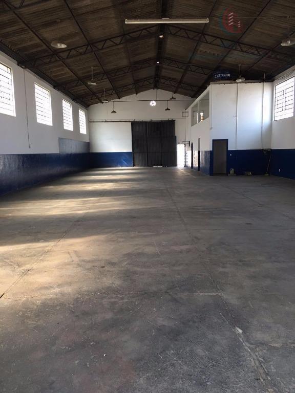 Barracão comercial para locação, Chácaras Campos dos Amarais, Campinas.