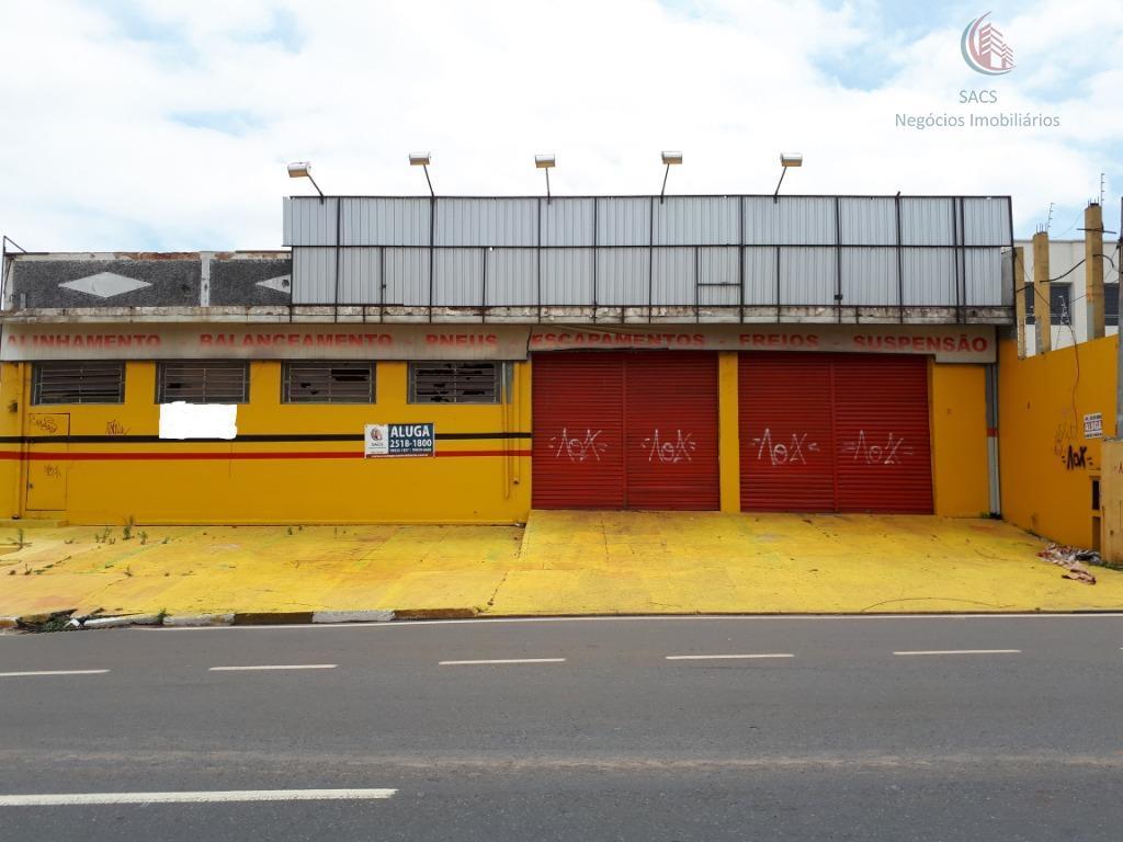 Barracão comercial para locação, Jardim Novo Campos Elíseos, Campinas.