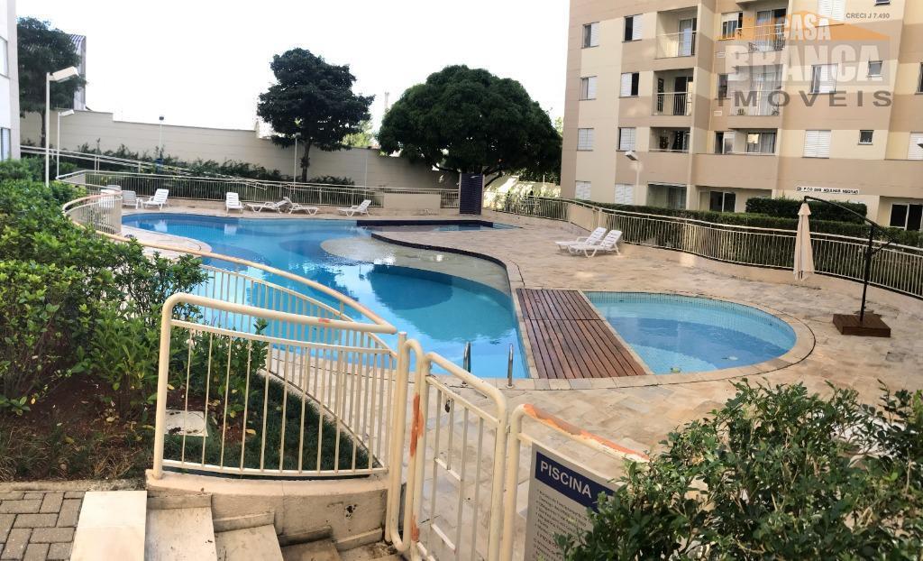 Apartamento com 3 dormitórios para alugar, 70 m² por R$ 1.850/mês - Jaguaré - São Paulo/SP